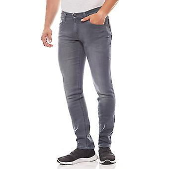 Lee Luke slim tapered men's skinny jeans grey leisure jeans