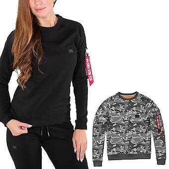 Alpha industries women's sweatshirt X-fit Wmn