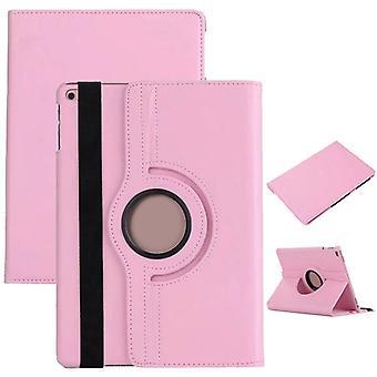 Cover 360 graden roze gevaldekking van het zakje tas voor de nieuwe Apple iPad 9,7 2017 nieuwe