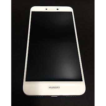 Huawei P8 Lite 2017 - LCD Screen and Battery - White