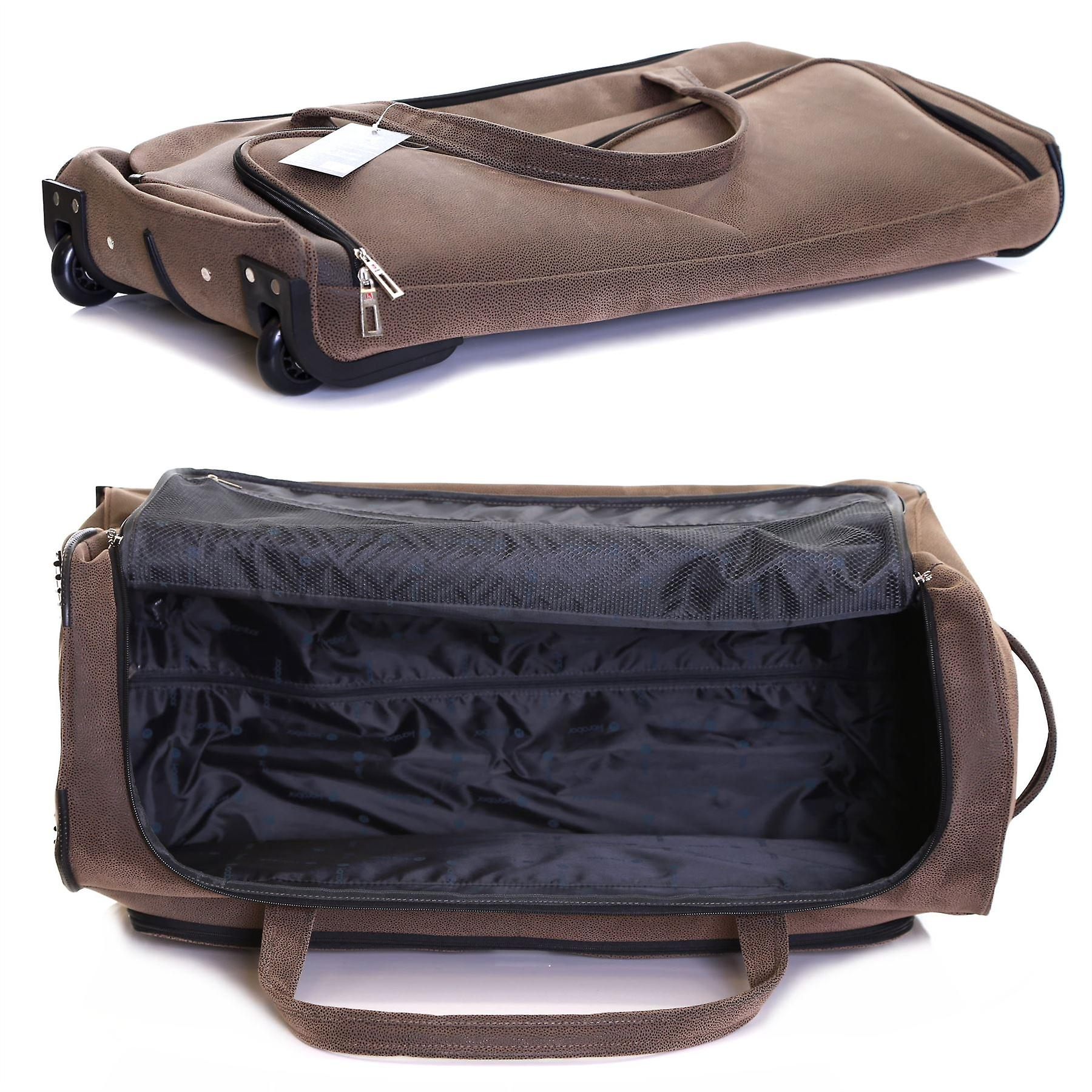 Karabar Portola 30 Inch Wheeled Bag, Walnut