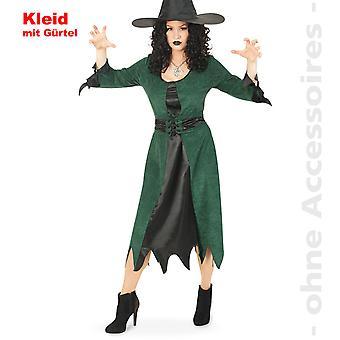 Costume de sorcière de la femme de forêt sorcière fée de forêt sorcière Halloween costume Womens