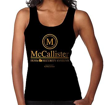 McCallister Home Alone Security Systems Women's Vest