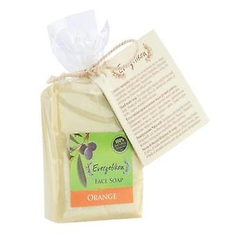 100% natural, Cretan extra virgin olive oil orange soap 130gr.