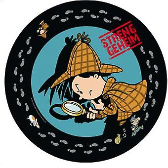 Detective Flo Sleuth plate 23Ø 8 piece children birthday theme party party birthday