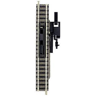 N Fleischmann piccolo (incl. track bed) 9114 Uncoupling track 111 mm
