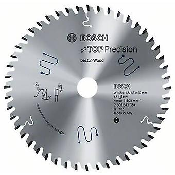 Circular saw blade 165 x 20 x 1.8 mm Number of cogs: 32 Bosch Accessories Top Precision 2608642386 1 pc(s)