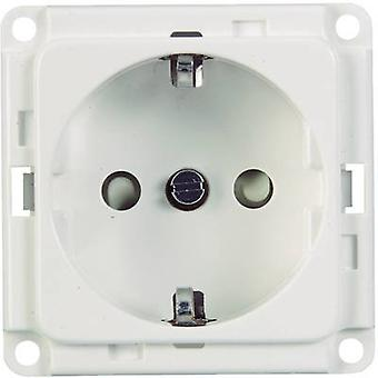 Skirting board Socket module 71680 White