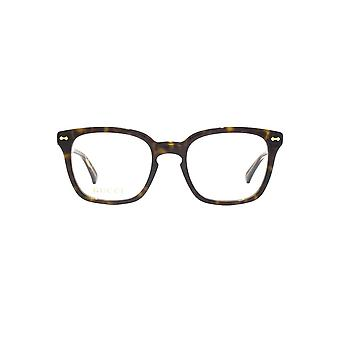 Gucci GG0184O Glasses In Havana Gold