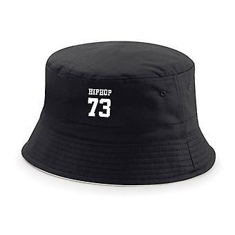 HIPHOP73 バケット ハット ブラック