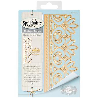 Spellbinders Card Creator Die-Graceful Floral Lace