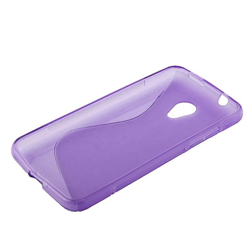 Mobile case TPU protective case for HTC desire 700 purple