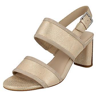 Damer Clarks højhælede lejlighed slid sandaler Amali Ava