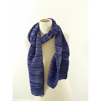 Genuine Fraas Fashion Scarf  Purple White Winter Warm Men Ladies No Label UK