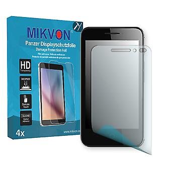 Alcatel Pixi 4 4 Zoll Screen Protector - Mikvon Armor Screen Protector (Retail Package with accessories)