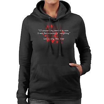 Dystopische zin van alles citeer vrouwen Hooded Sweatshirt