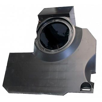 Mercedes smart 451 i-sotec subwoofer empty housings for passenger footwell