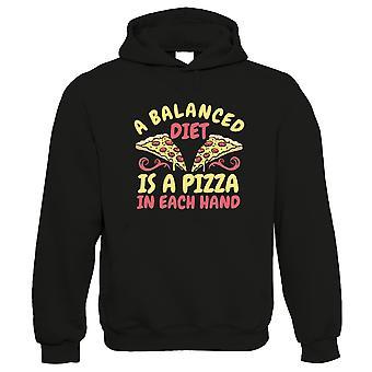 Balanced Diet Pizza, Hoodie