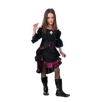 Vampire girl Halloween costume Gothic girl Miss Dracula dress