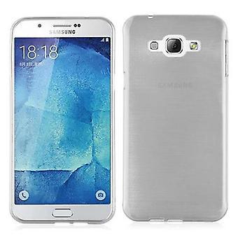 Cadorabo tilfældet for Samsung Galaxy A8 2015 Case Cover-mobiltelefon sag lavet af fleksibel TPU silikone-silikone sag beskyttende sag Ultra Slim Soft tilbage Cover sag kofanger