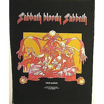 Black Sabbath Bloody Sabbath Large Sew-On Backpatch