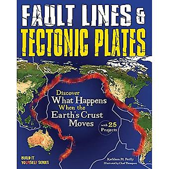 Fault Lines & Tectonic Plates: Discover What Happens When the Earth's Crust Moves (Build it Yourself)