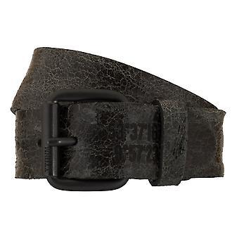 TOM TAILOR belt leather belts men's belts jeans belt black 7803