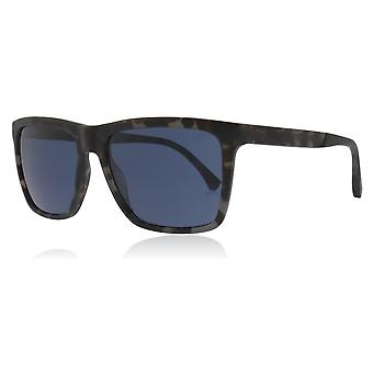 Emporio Armani EA4117 570380 Matte Grey / Havana EA4117 Rectangle Sunglasses Lens Category 3 Size 57mm