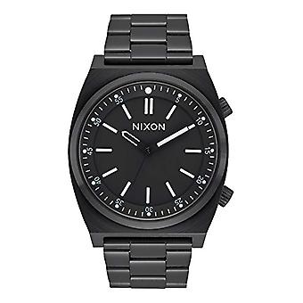 Nixon Mens Quartz analog watch with stainless steel band A1176-001-00