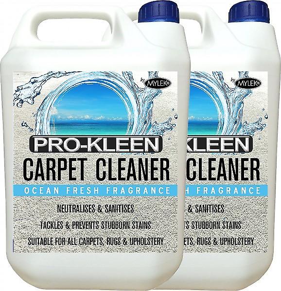 Mylek Upholstry Carpet Cleaning Solution | Ultima Plus Xp | Ocean Fresh | 10 Litre