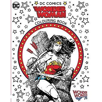 Wonder Woman Colouring Book - 9781783707270 Book