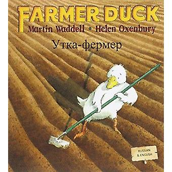 Farmer Duck in Russian and English by Martin Waddell - Helen Oxenbury