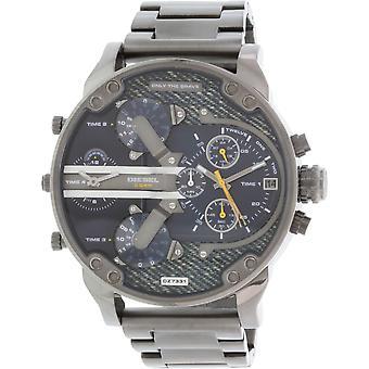 Diesel Men's Mr. Daddy Dz7331 Gunmetal Stainless-steel Quartz Watch