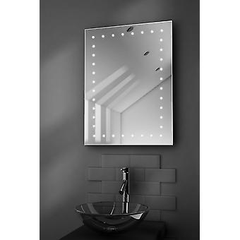 Inca Ultra-Slim LED badrum spegel med Demister Pad & Sensor k166