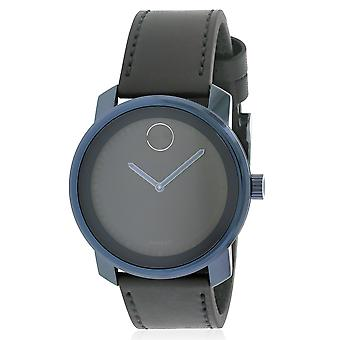 Movado Bold Leather Unisex Watch 3600408