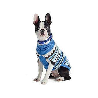 Ancol Blue Alpine Dog Sweater - X Small