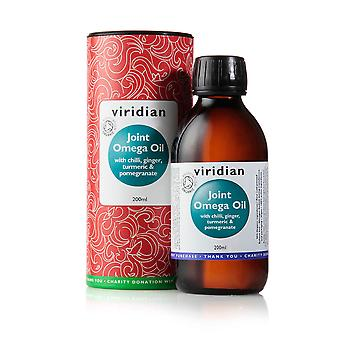 Viridian Joint Omega Oil with spice and fruit extracts (95% organic) , 200ml