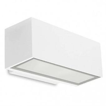 Led Outdoor Small Wall Light Grey Ip65