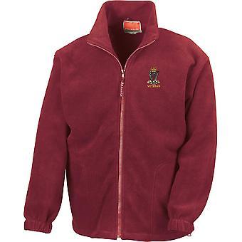 Royal Irish Rangers Veteran - Licensed British Army Embroidered Heavyweight Fleece Jacket