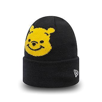 Ny æra baby spædbarn vinter hat Beanie-pu bjørnen