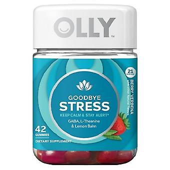 Olly Goodbye Stress Nahrungsergänzung Gummies - Berry Verbena