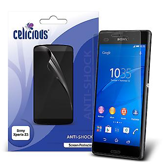 Celicious Impact Anti-Shock Shatterproof Screen Protector Film Compatible with Sony Xperia Z3
