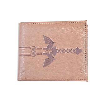 Zelda Brieftasche Zelda Schwert neue offizielle Nintendo Gamer Brown Bifold