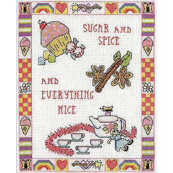 Sugar And Spice gezählt Cross Stitch Kit-8