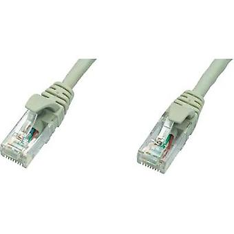 RJ49 Networks Cable CAT 5e U/UTP 0.50 m Grey Flame-retardant Telegärtner