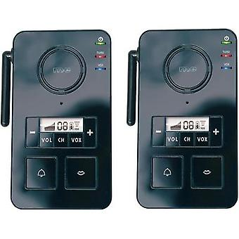 Door phone Radio 446 MHz 2000 m Black m-e modern-electronics FS 2.1
