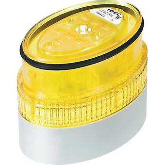 Signal tower component LED Idec LD9Z-6ALW-Y Yellow Non-stop light signal 24 Vdc, 24 Vac