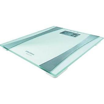 Smart bathroom scales Grundig Körperanalysewaage PS 5110 Weight range=150 kg Silver