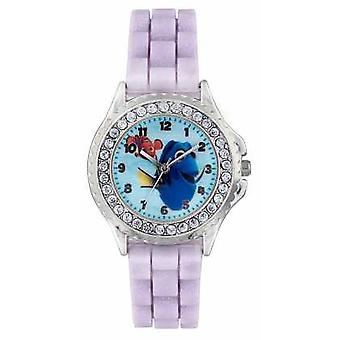 Disney Princess Childrens Finding Dory Purple Strap FDO3035 Watch