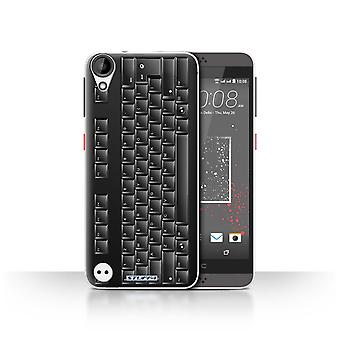 STUFF4 Case/Cover for HTC Desire 630/PC Keyboard/Black/Keys/Buttons